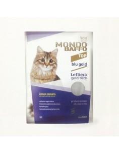 Mondo Baffo Cat - Lettiera Blu Gold Profumata alla Lavanda - 5 l