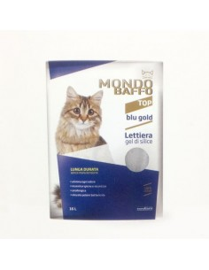 Mondo Baffo Cat - Lettiera Blu Gold - 16 l