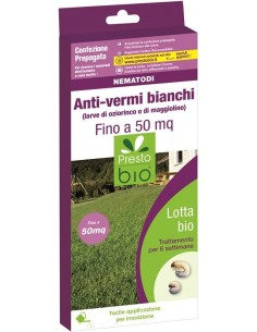 Nematodi Anti-vermi bianchi fino a 50 mq - Organismi Utili