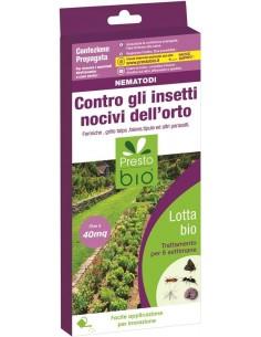 Nematodi contro insetti nocivi dell'orto - Organismi Utili
