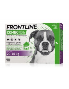 Frontline Combo Cane 3 Pipette 20-40 Kg