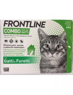 Frontline Combo Gatto Antiparassitario 3 pipette