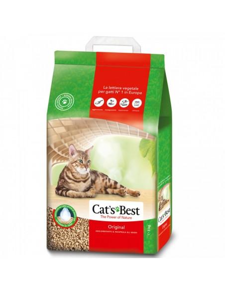 Cat's Best Oko Plus - Lettiera Agglomerante per Gatti - 3 Kg - 7 lt
