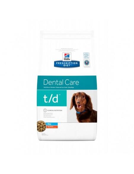 Hill's Prescription Diet T/D Mini Cane - Kg. 3