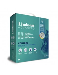 Lindocat Advanced CONTROL+ Lettiera Diagnostica Micro Agglomerante - 6 litri