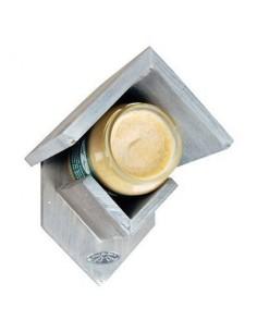 Bavicchi -  Portaburro di arachidi per uccellini in legno anticato