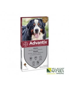 Advantix Spot-on per Cani da 40 a 60 Kg - 4 pipette x 6,0 ml