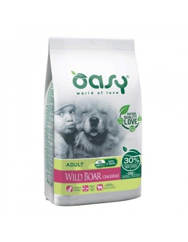 Oasy Cane Adult All Breed Cinghiale 12 Kg