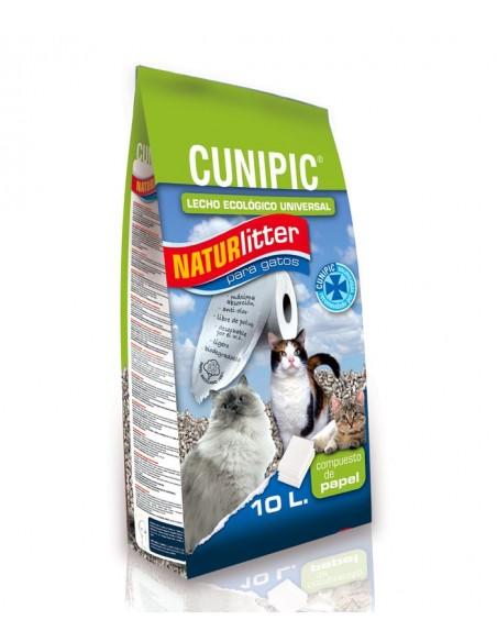 Cunipic Naturlitter - Lettiera naturale in carta per gatti