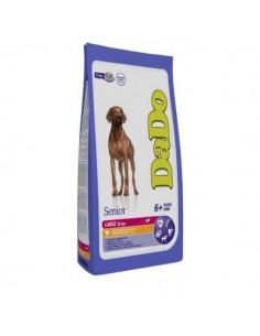 Dado Cane Senior 6+ - Medium-Large 11Kg+ - Al Pollo - Sacco da 12 Kg