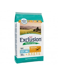 Exclusion Mediterraneo Adult Fish Medium Breed - 12,5 Kg