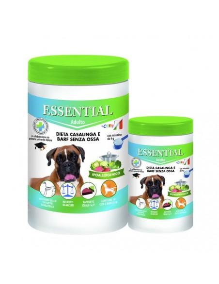 Essential - Dieta Casalinga e Barf Senza Ossa per cane Adulto - 650 g