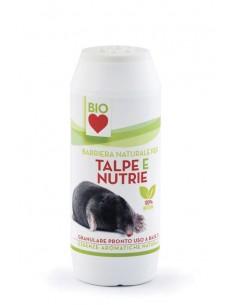 Bio Love - Disabituante Talpe e Nutrie Granulare - Barattolo - 250 g