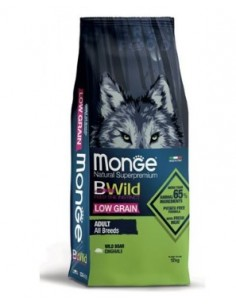 Monge cane - Bwild - Adult Low Grain - All Breeds - Cinghiale