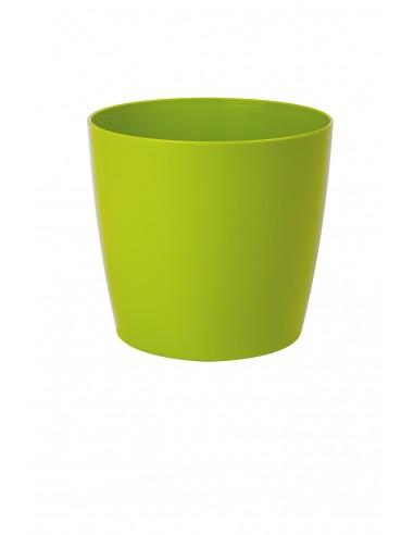 Vaso in plastica Round Living Verde -...