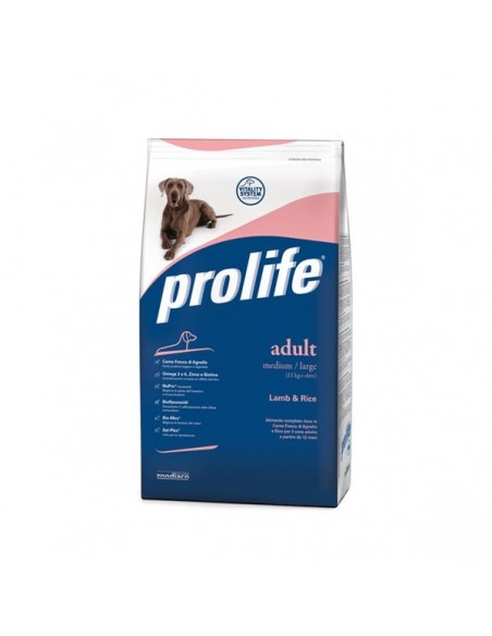 Prolife Dog Lamb&rice (agnello e riso) 3 Kg