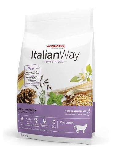 Italian Way - Lettiera Naturale Soft & Natural 2,5 Kg