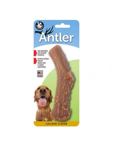 Pet Qwerks - Antler Wood Corno di...