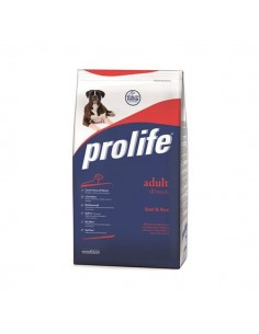 Prolife Adult All Breeds Beef & Rice (manzo riso) 15 Kg