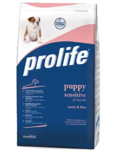 Prolife Puppy Sensitive all breeds Lamb & Rice (Agnello e Riso) 12 Kg