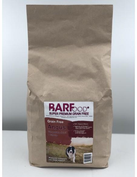 Barfood -  Grain Free - ANGUS con Patate dolci e Carote - Superpremium - 2 kg