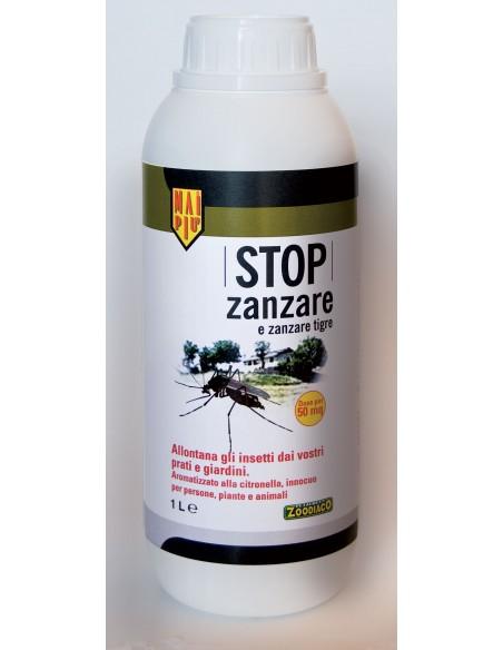 STOP zanzare e zanzare tigre