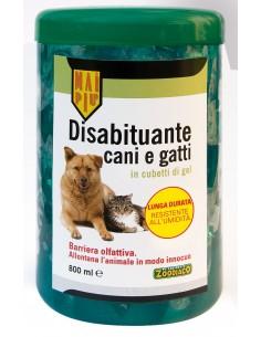 Disabituante cani e gatti in cubetti di gel